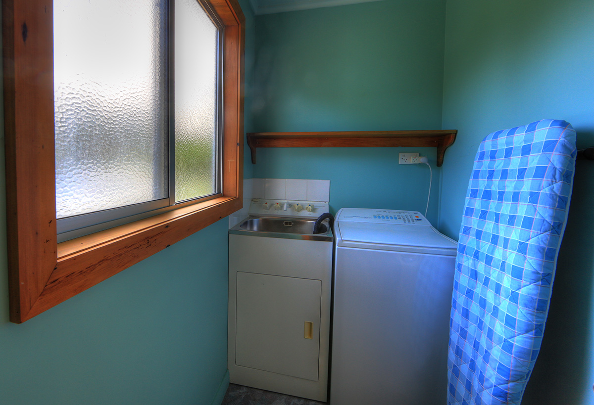 Laundry in cottage
