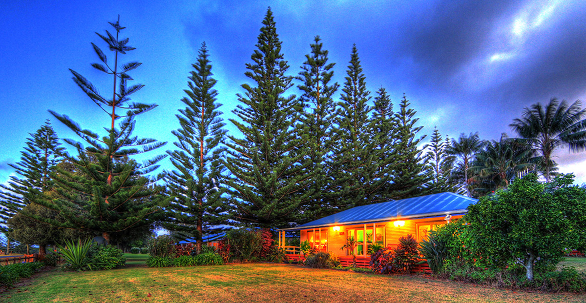 2 bedroom cottage Norfolk Island
