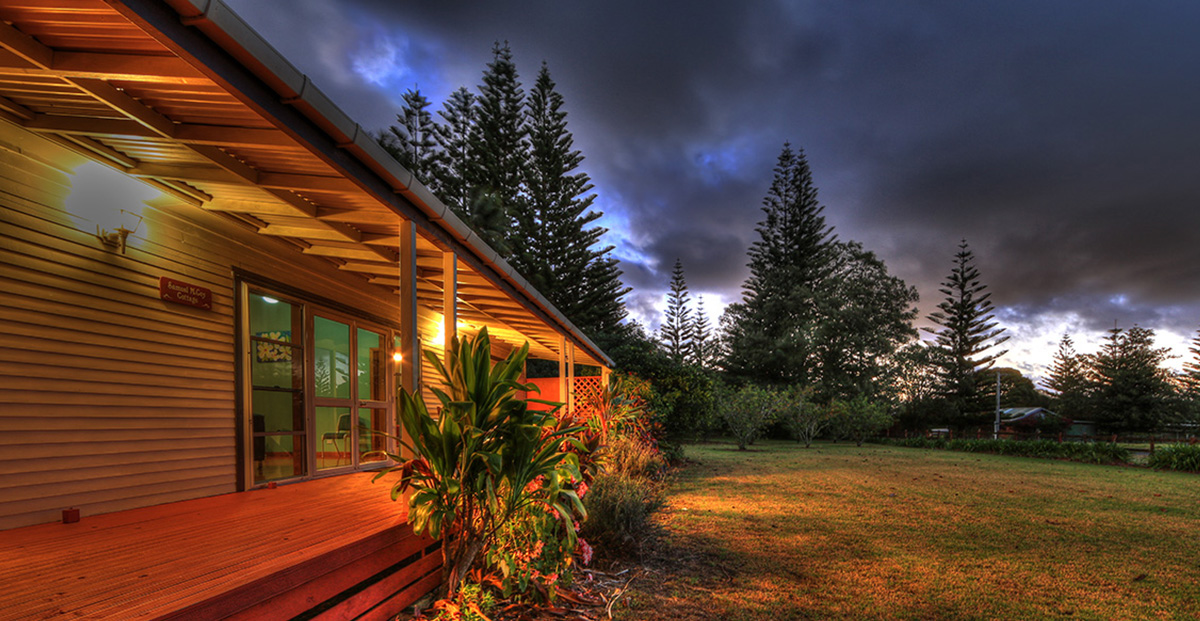 Private Norfolk Island cottage